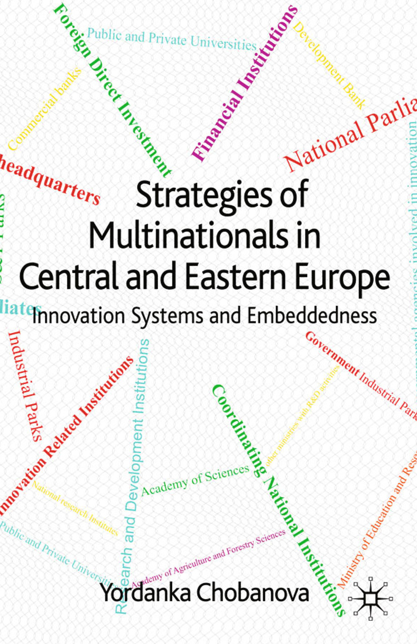 Chobanova, Yordanka - Strategies of Multinationals in Central and Eastern Europe, e-bok