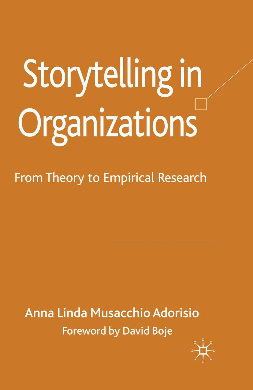Adorisio, Anna Linda Musacchio - Storytelling in Organizations, ebook