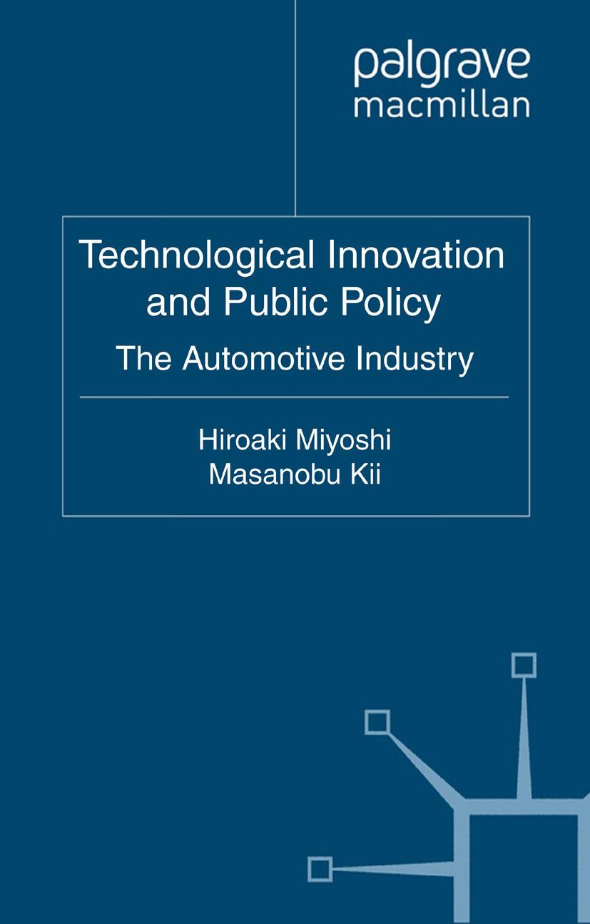 Kii, Masanobu - Technological Innovation and Public Policy, ebook