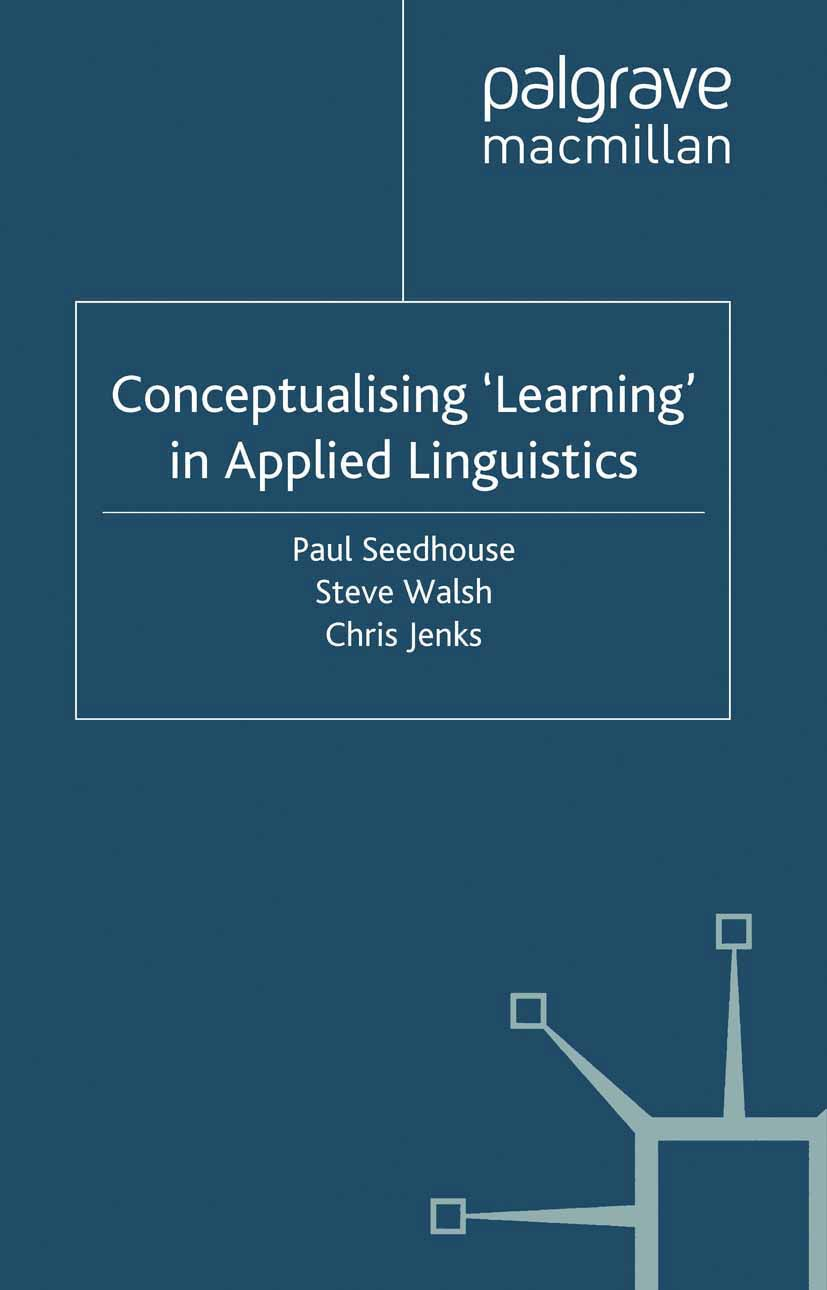 Jenks, Chris - Conceptualising 'Learning' in Applied Linguistics, ebook