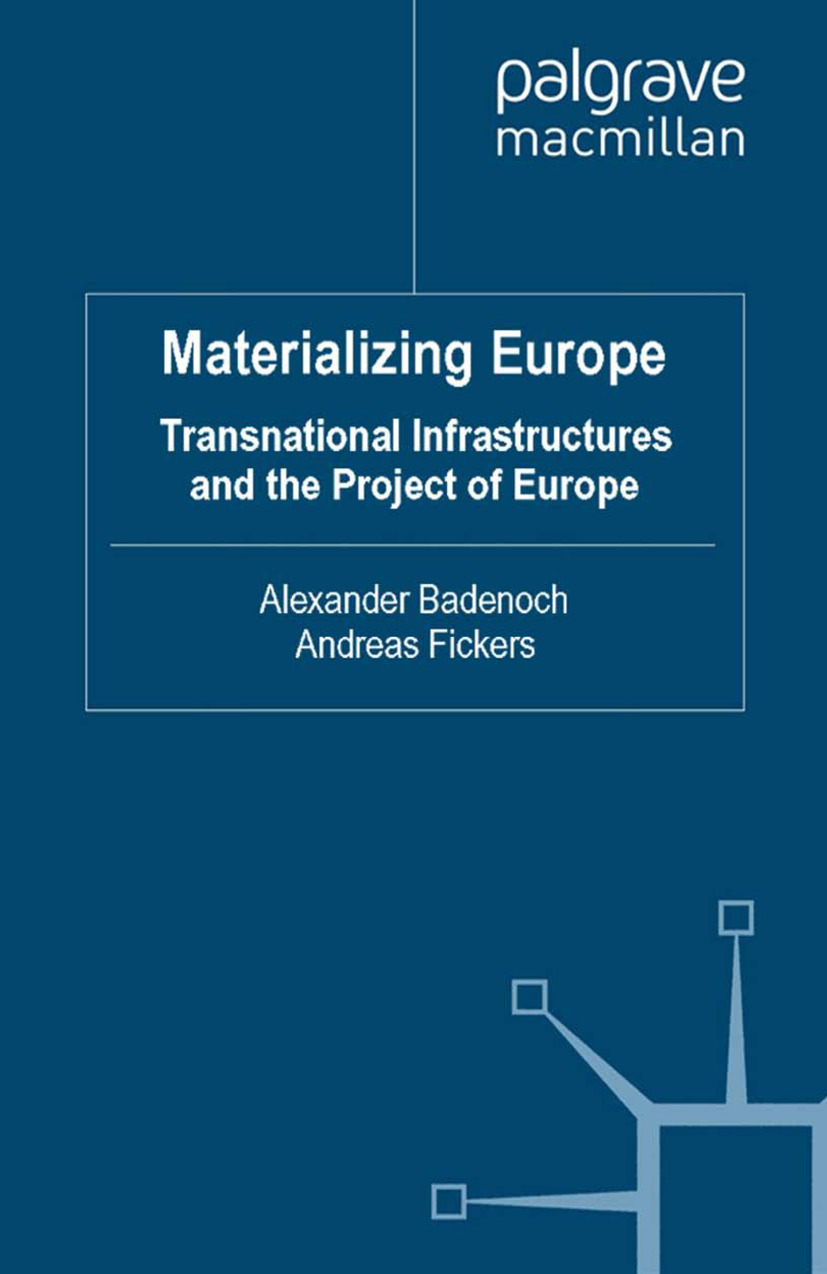 Badenoch, Alexander - Materializing Europe, ebook