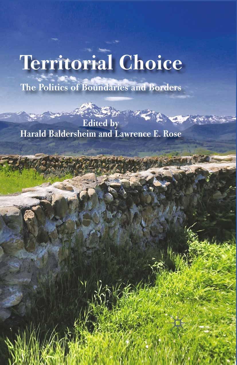 Baldersheim, Harald - Territorial Choice, ebook