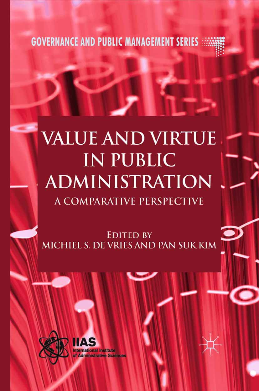 Kim, Pan Suk - Value and Virtue in Public Administration, ebook