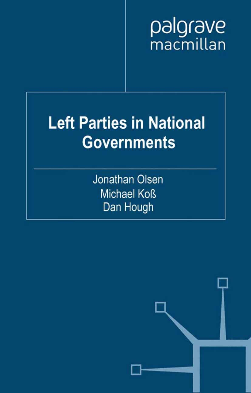 Hough, Dan - Left Parties in National Governments, e-kirja