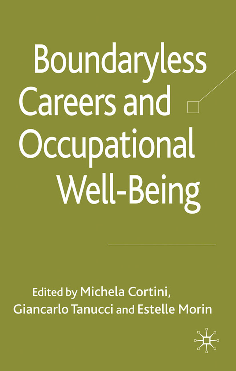 Cortini, Michela - Boundaryless Careers and Occupational Well-being, ebook