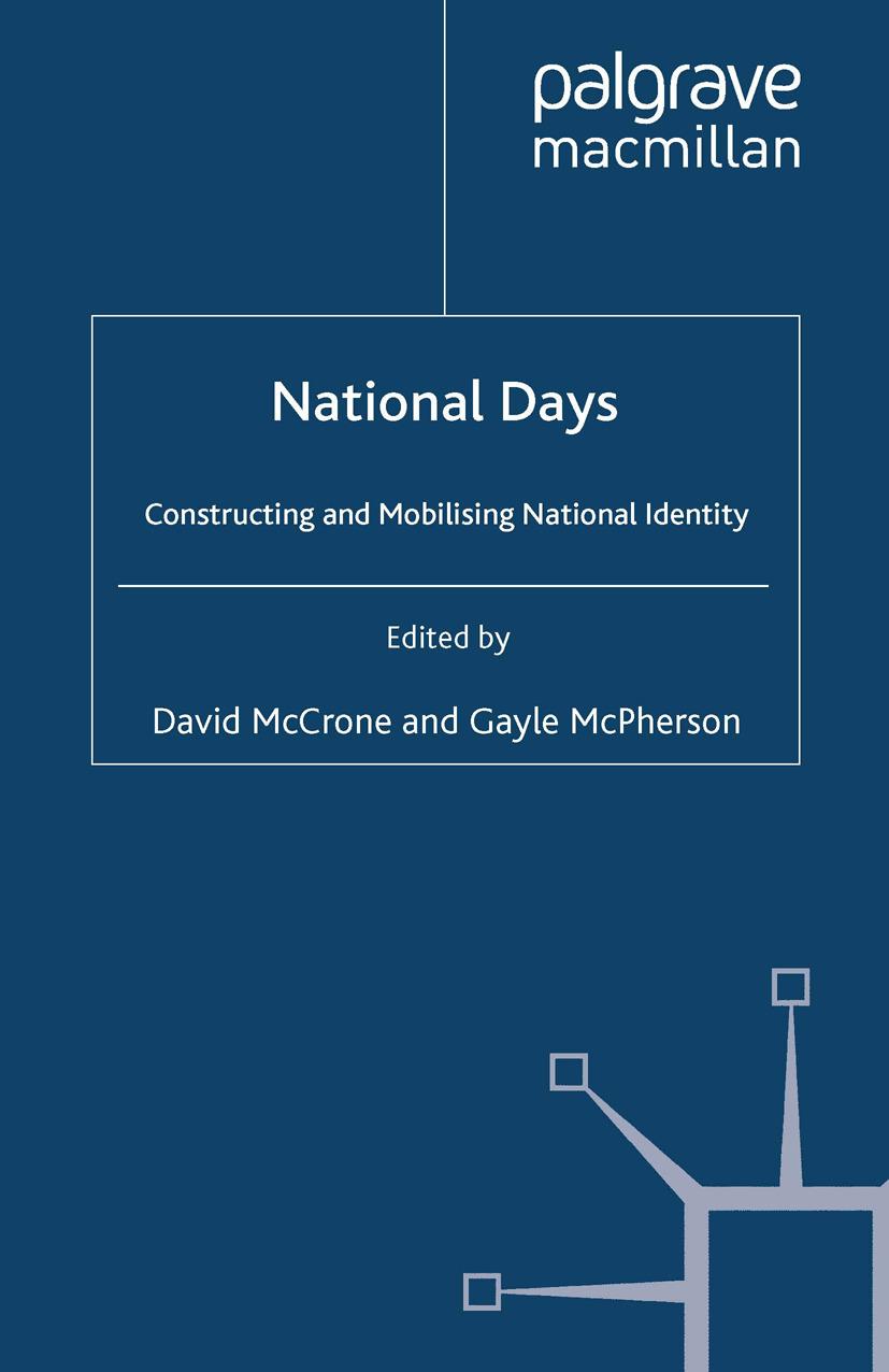 McCrone, David - National Days, ebook