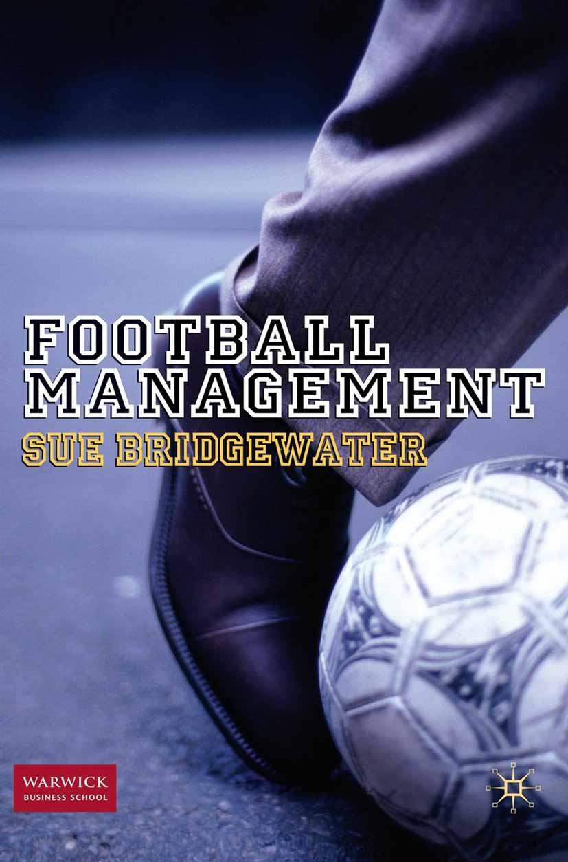 Bridgewater, Sue - Football Management, ebook