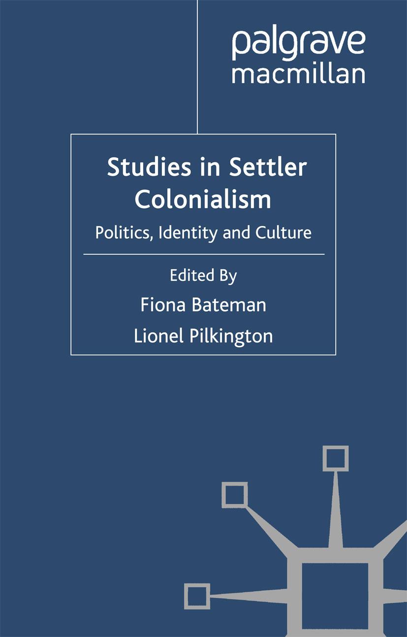 Bateman, Fiona - Studies in Settler Colonialism, ebook