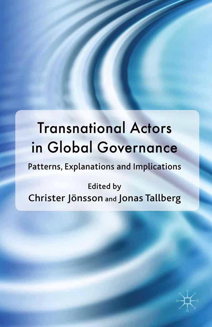 Jönsson, Christer - Transnational Actors in Global Governance, ebook