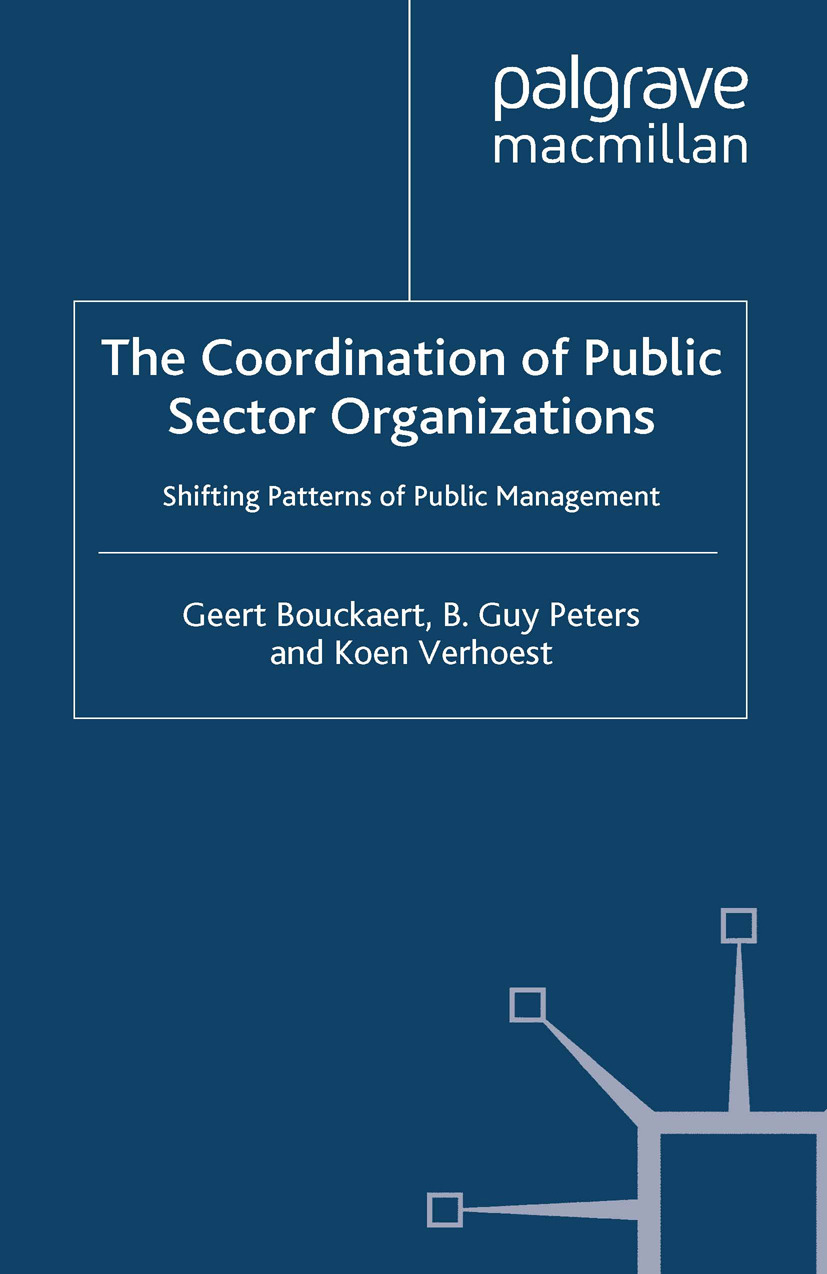 Bouckaert, Geert - The Coordination of Public Sector Organizations, ebook