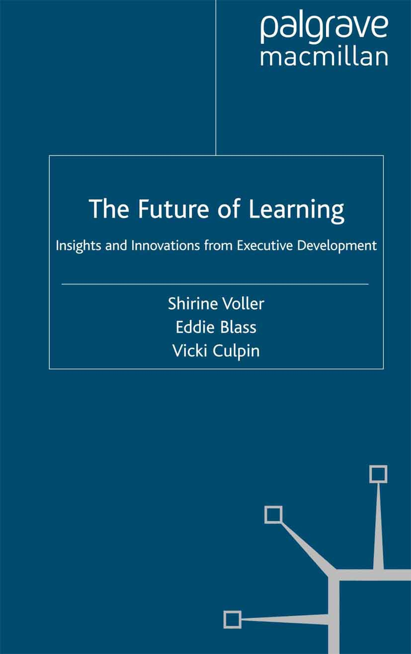 Blass, Eddie - The Future of Learning, ebook