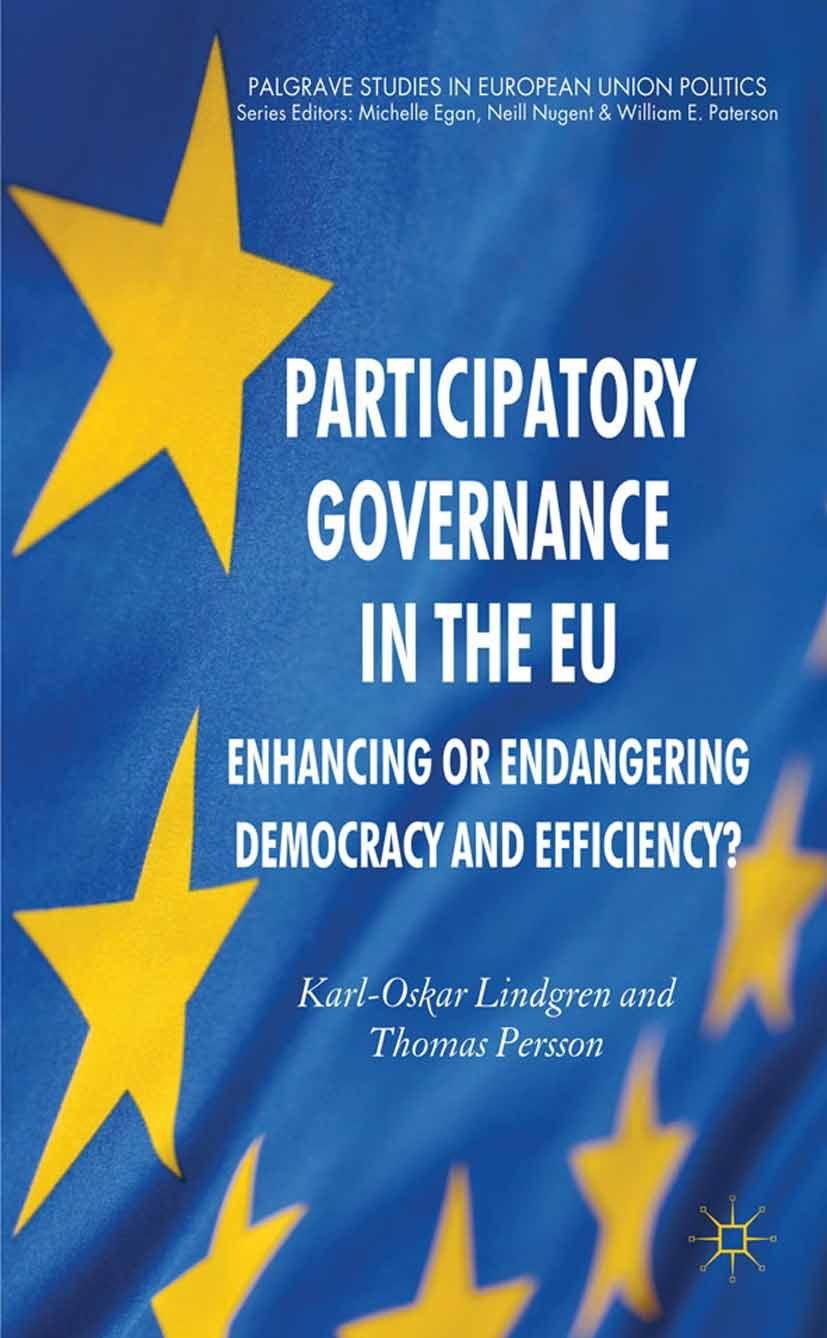 Lindgren, Karl-Oskar - Participatory Governance in the EU, ebook