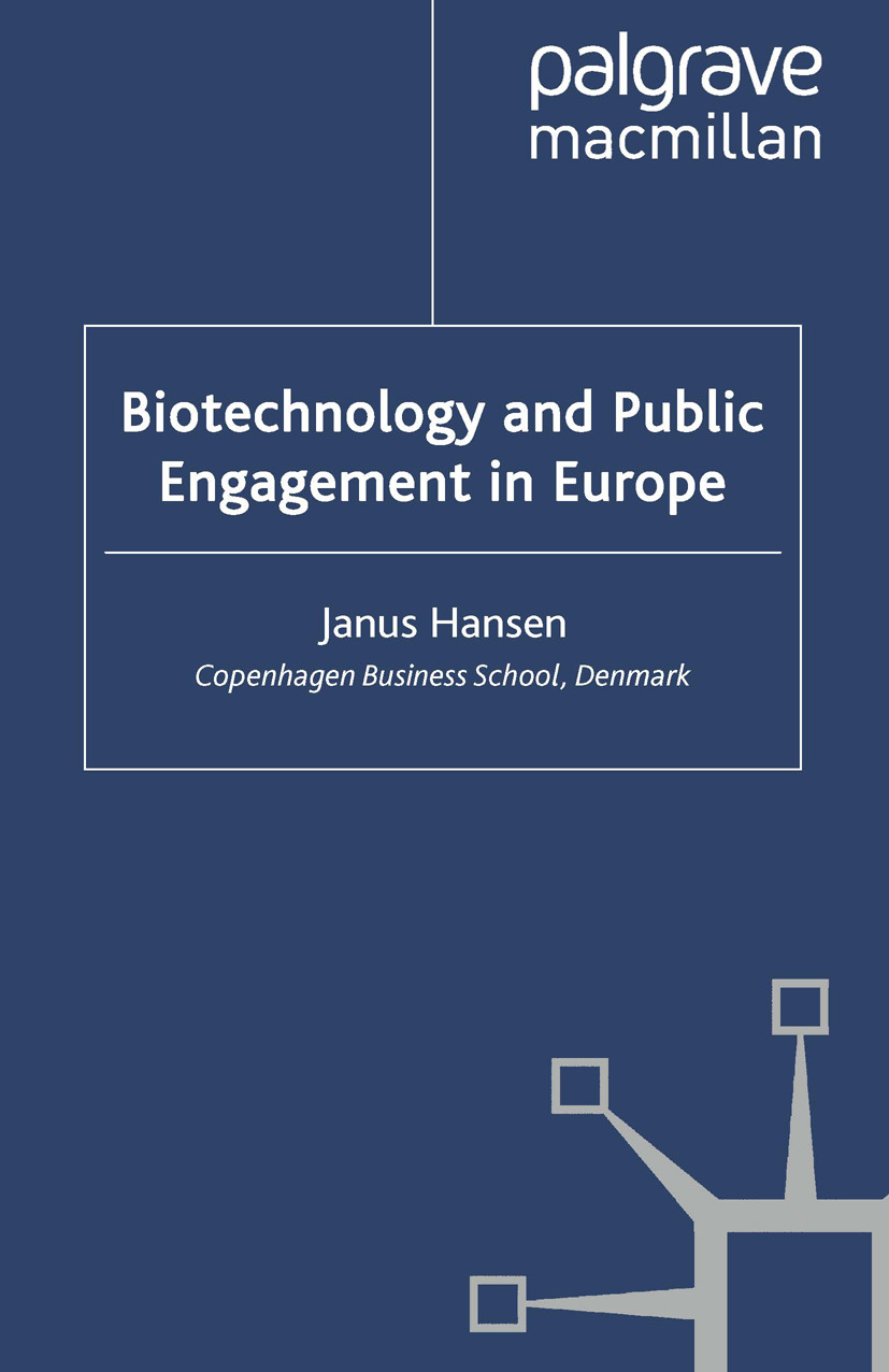 Hansen, Janus - Biotechnology and Public Engagement in Europe, ebook