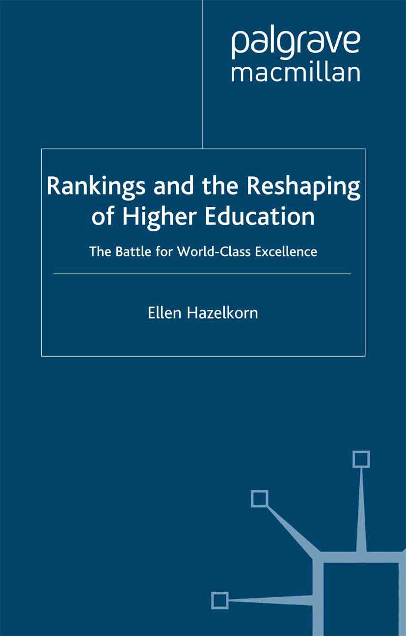 Hazelkorn, Ellen - Rankings and the Reshaping of Higher Education, ebook