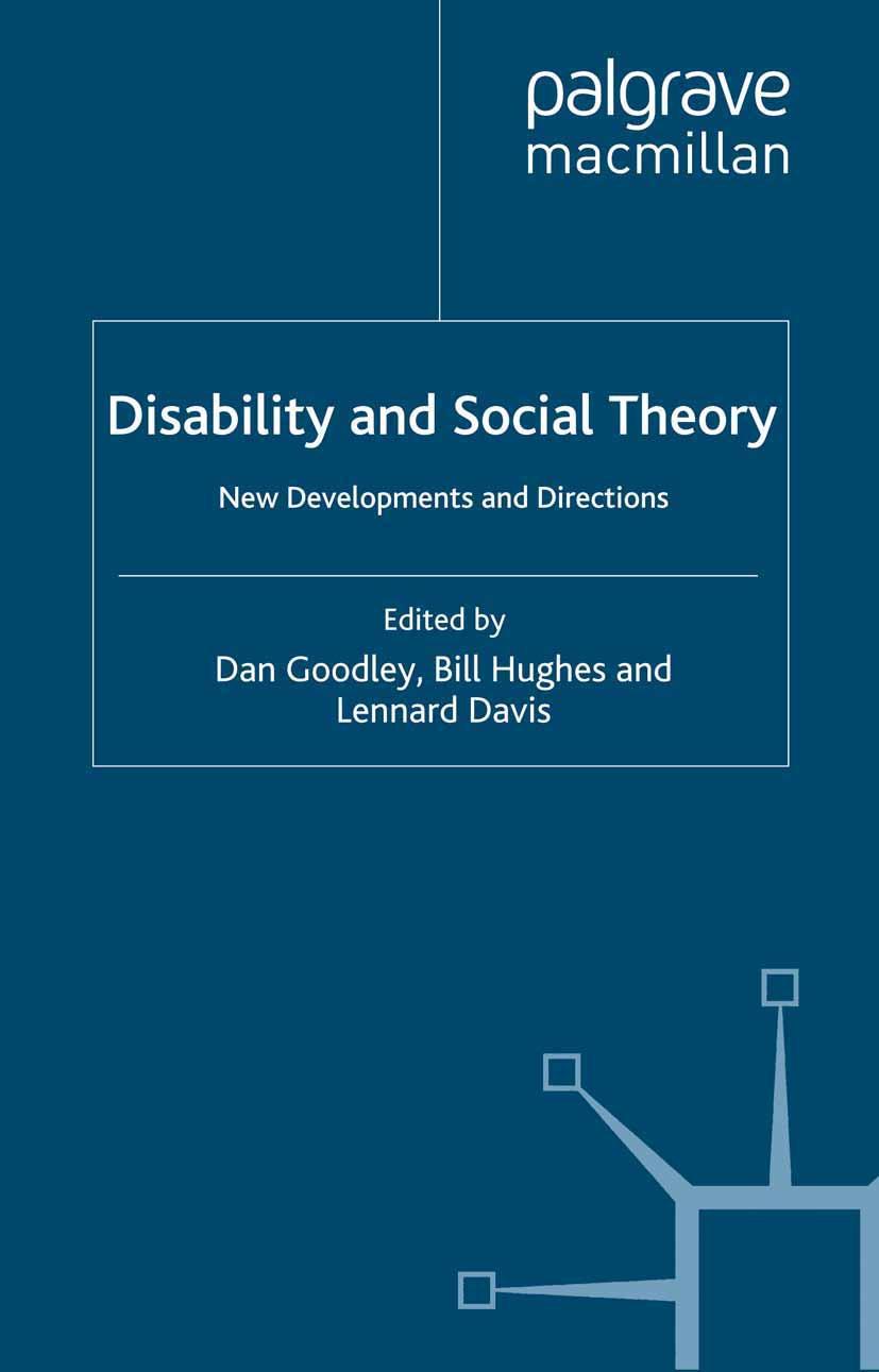 Davis, Lennard - Disability and Social Theory, ebook