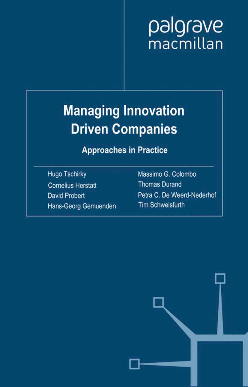 Colombo, Massimo G. - Managing Innovation Driven Companies, ebook