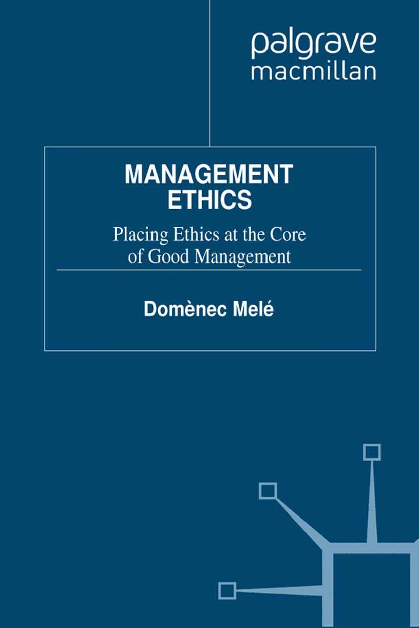 Melé, Domènec - Management Ethics, ebook
