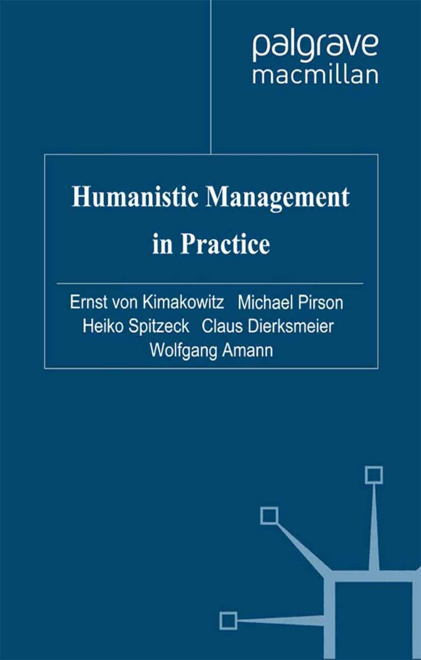 Amann, Wolfgang - Humanistic Management in Practice, ebook