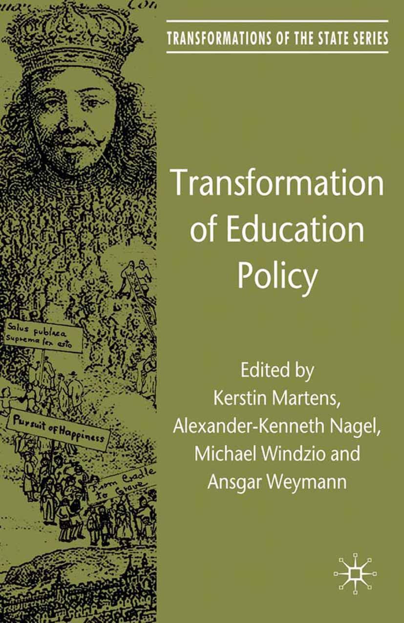 Martens, Kerstin - Transformation of Education Policy, e-kirja