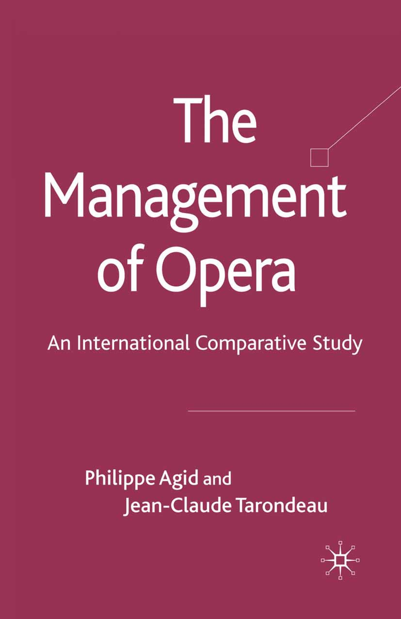 Agid, Philippe - The Management of Opera, ebook