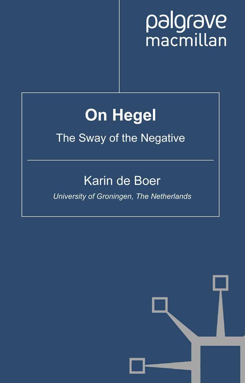 Boer, Karin - On Hegel, ebook