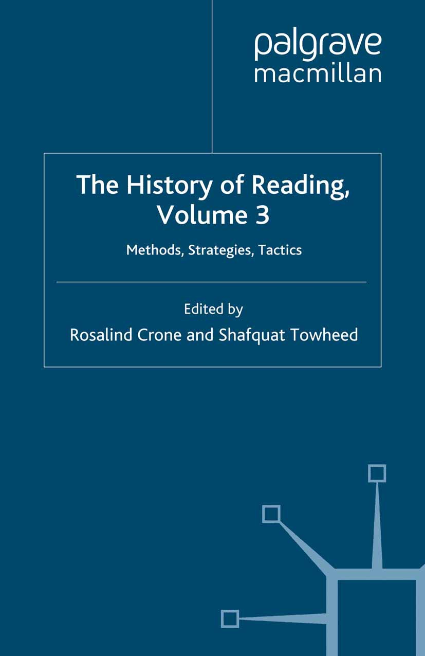 Crone, Rosalind - The History of Reading, Volume 3, ebook