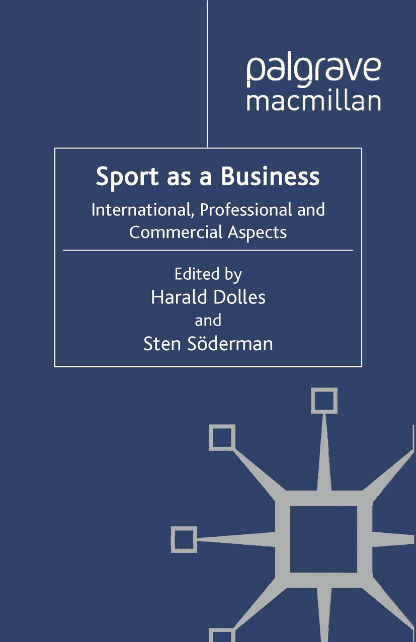 Dolles, Harald - Sport as a Business, ebook