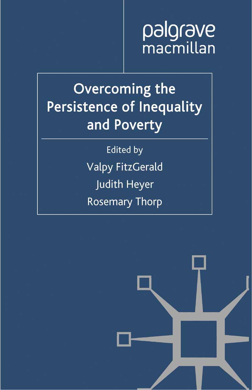 FitzGerald, Valpy - Overcoming the Persistence of Inequality and Poverty, ebook