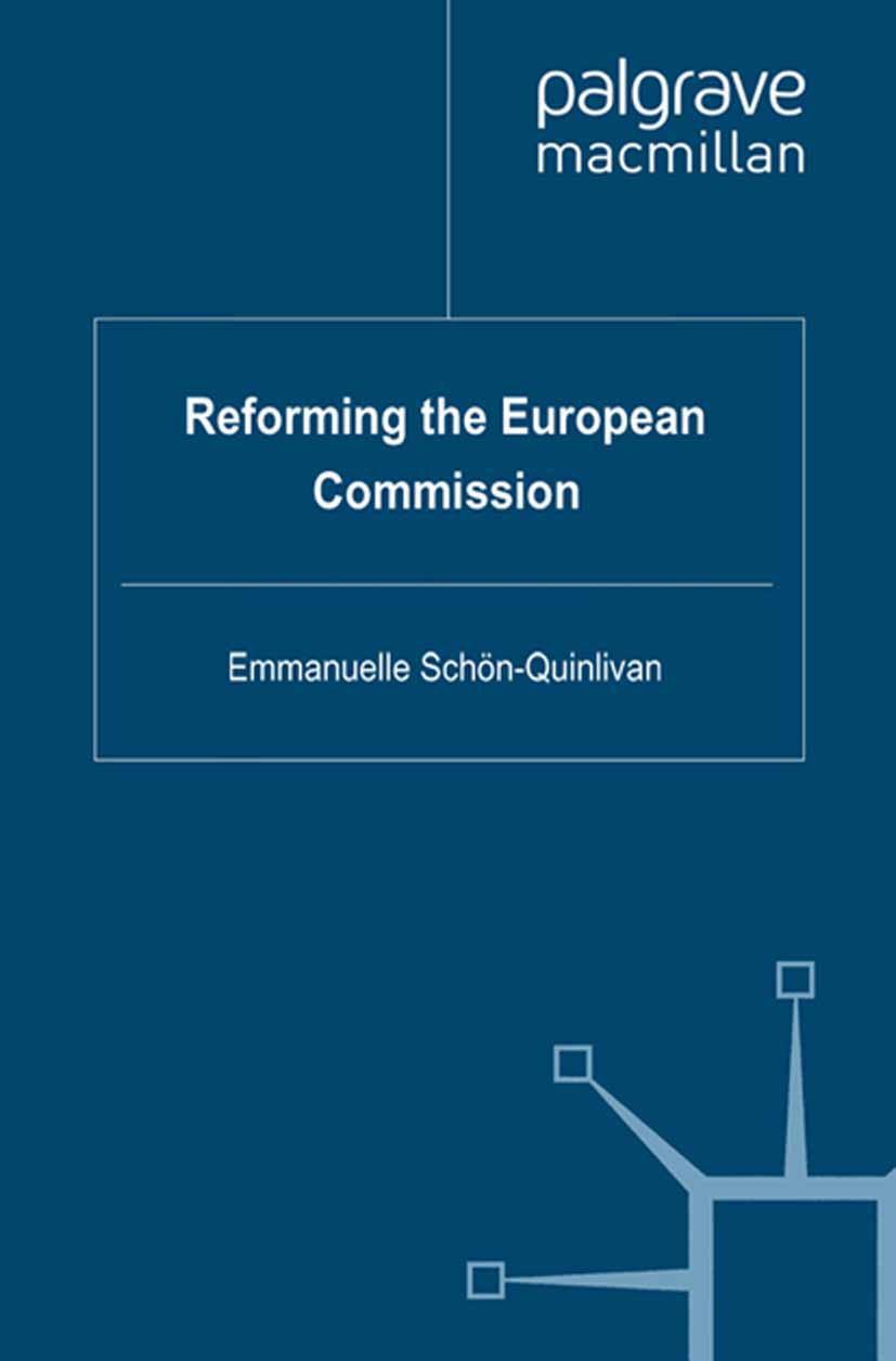 Schön-Quinlivan, Emmanuelle - Reforming the European Commission, ebook