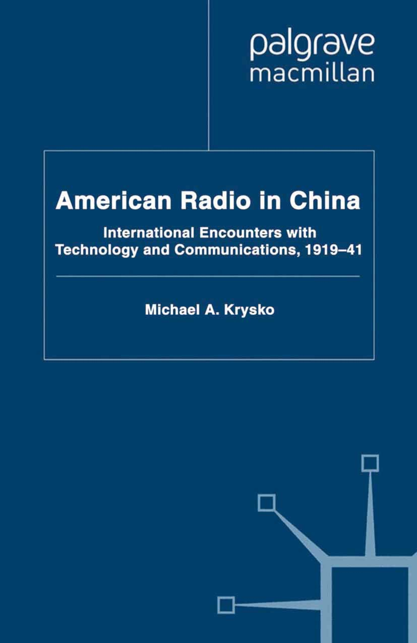 Krysko, Michael A. - American Radio in China, ebook