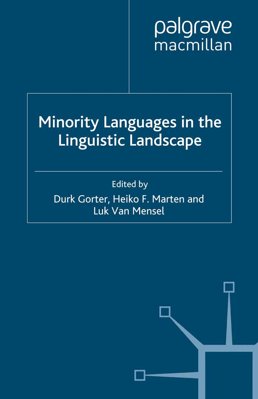 Gorter, Durk - Minority Languages in the Linguistic Landscape, ebook