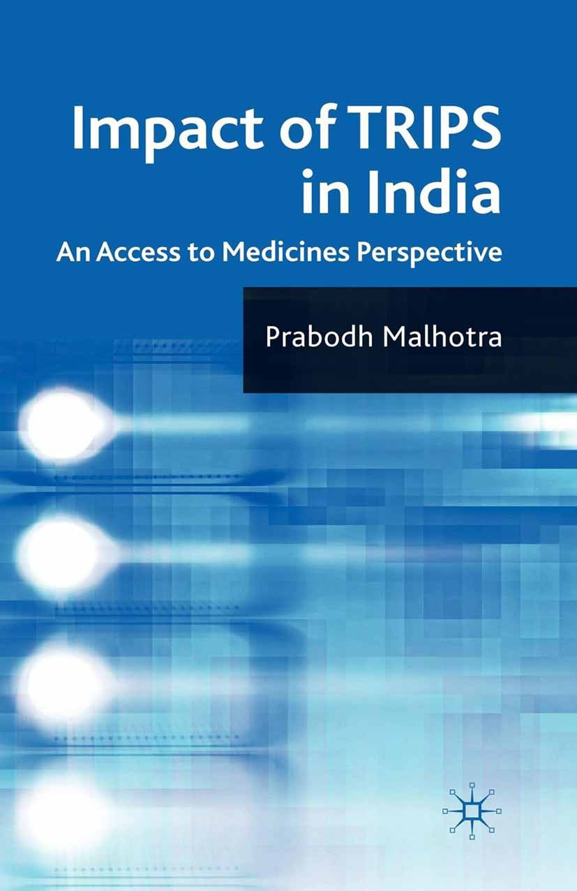 Malhotra, Prabodh - Impact of TRIPS in India, ebook