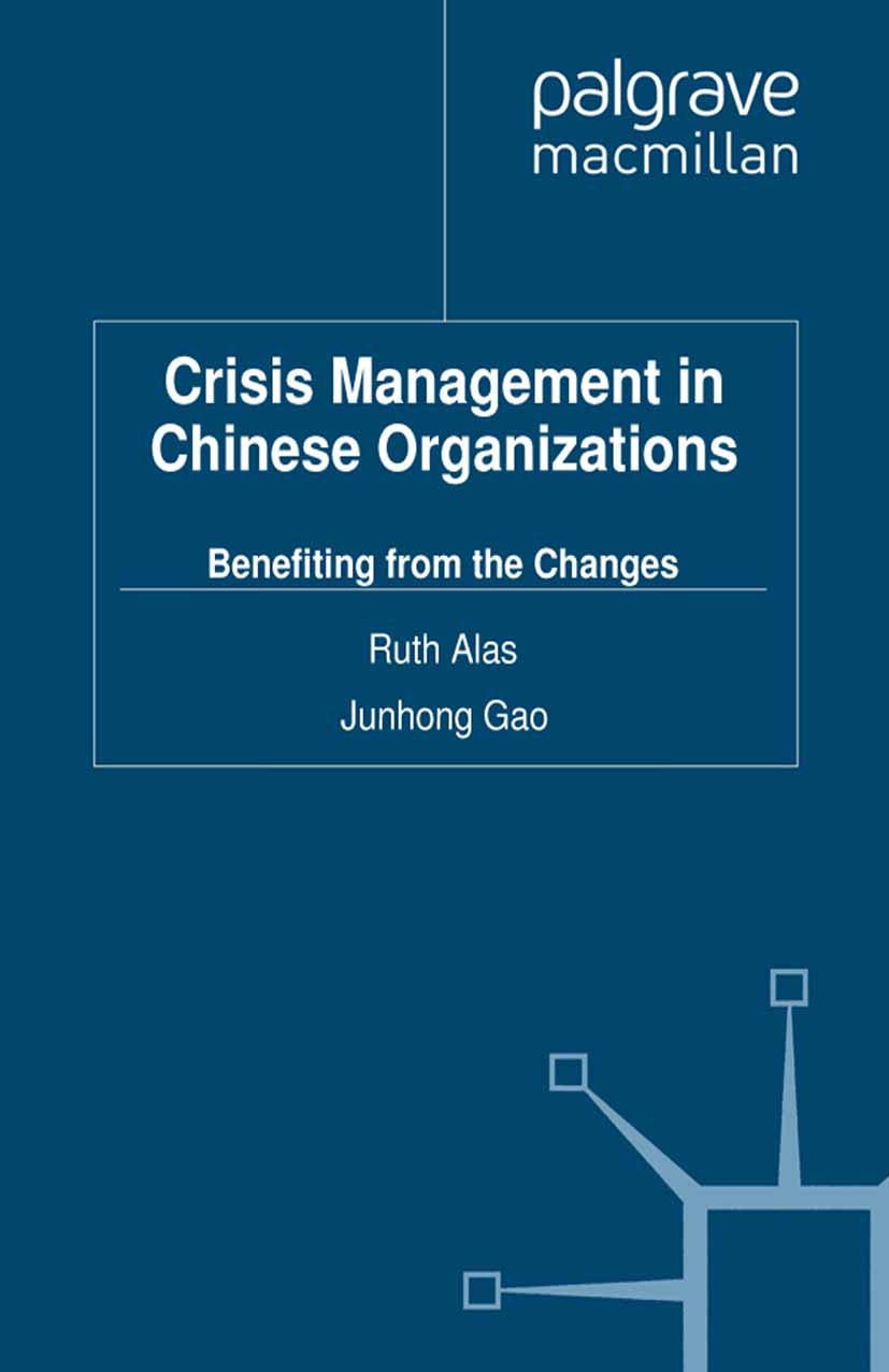 Alas, Ruth - Crisis Management in Chinese Organizations, ebook