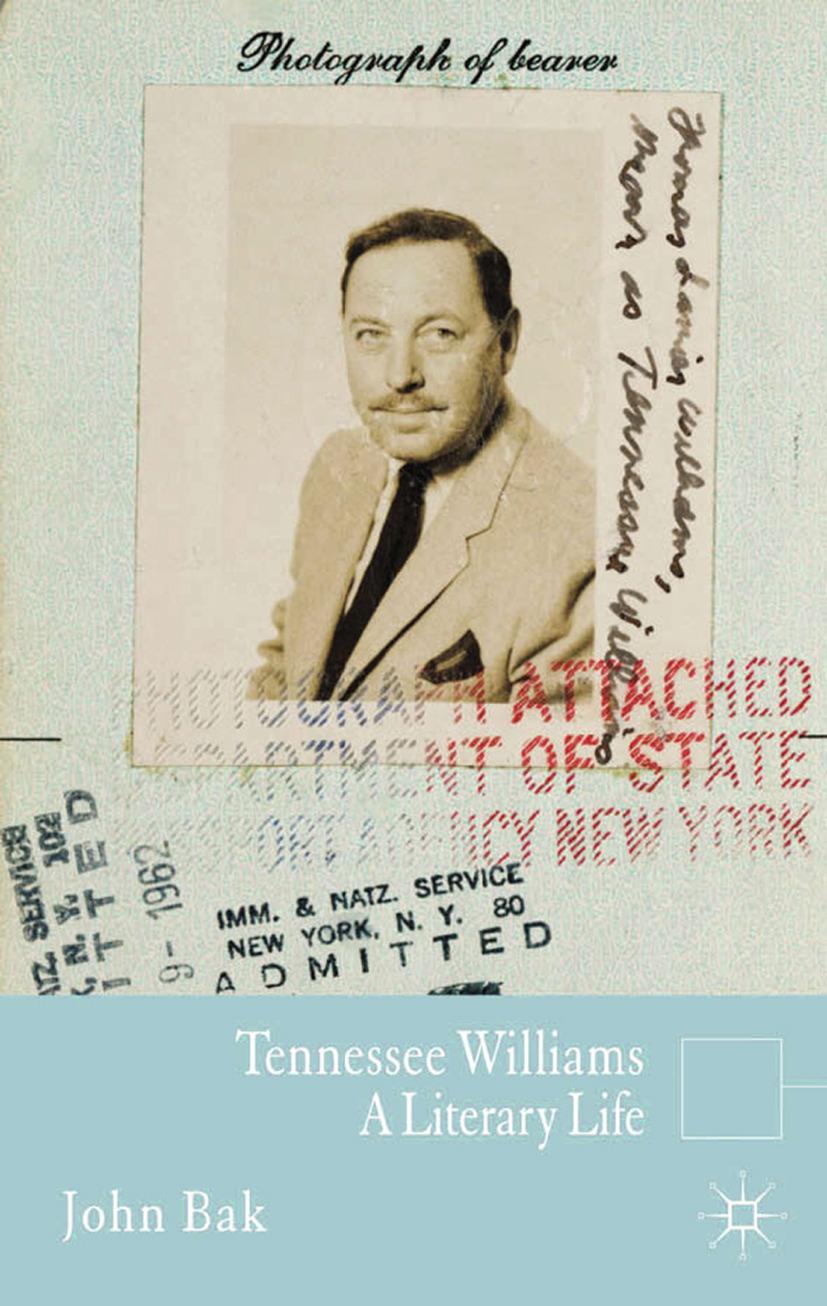 Bak, John S. - Tennessee Williams, ebook