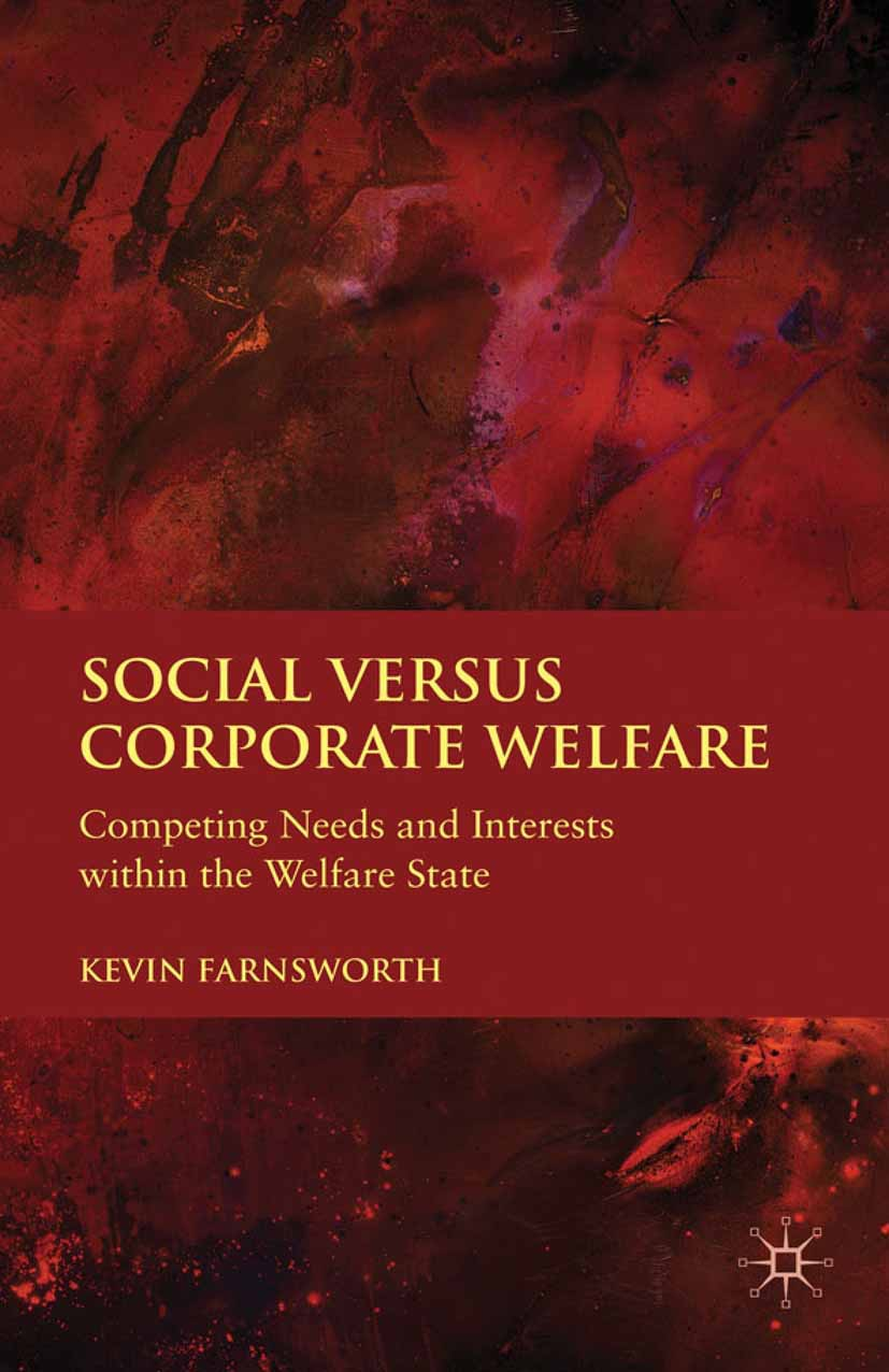Farnsworth, Kevin - Social versus Corporate Welfare, ebook