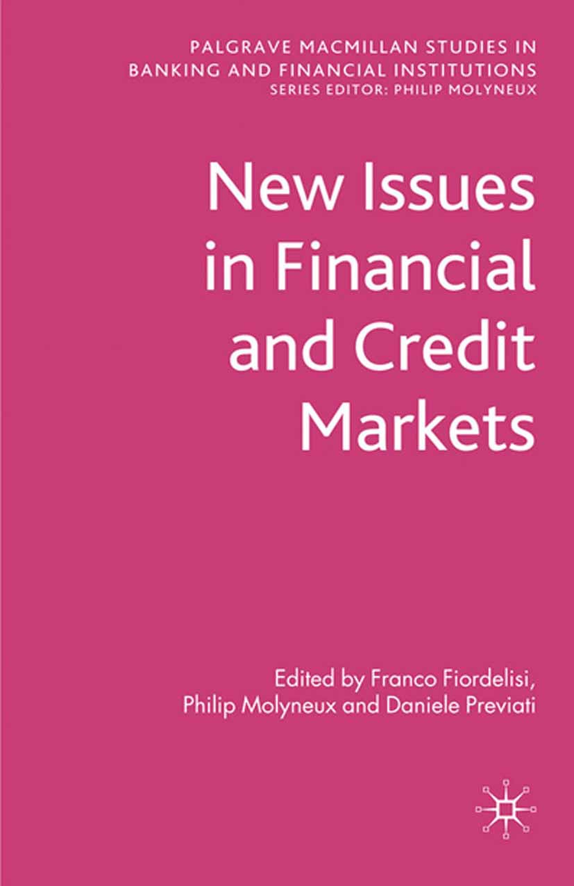 Fiordelisi, Franco - New Issues in Financial and Credit Markets, e-bok