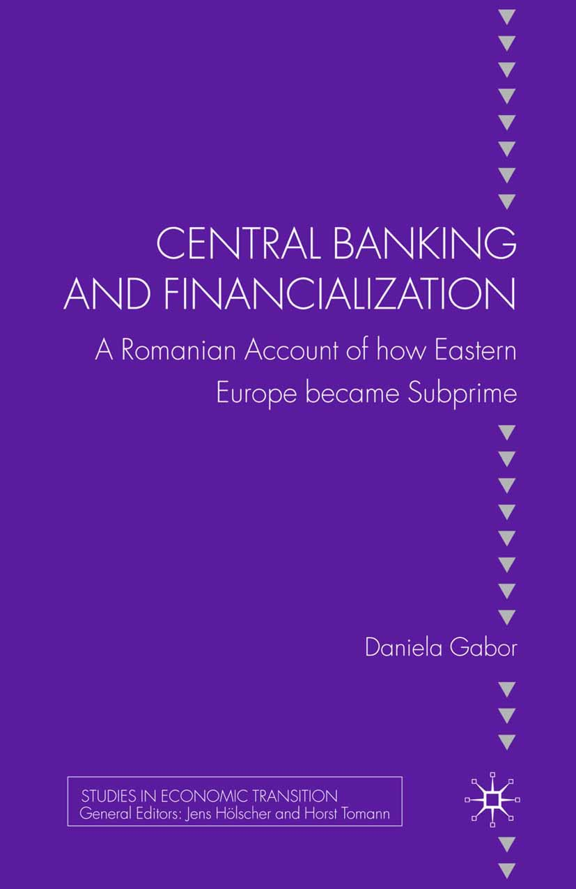 Gabor, Daniela - Central Banking and Financialization, ebook