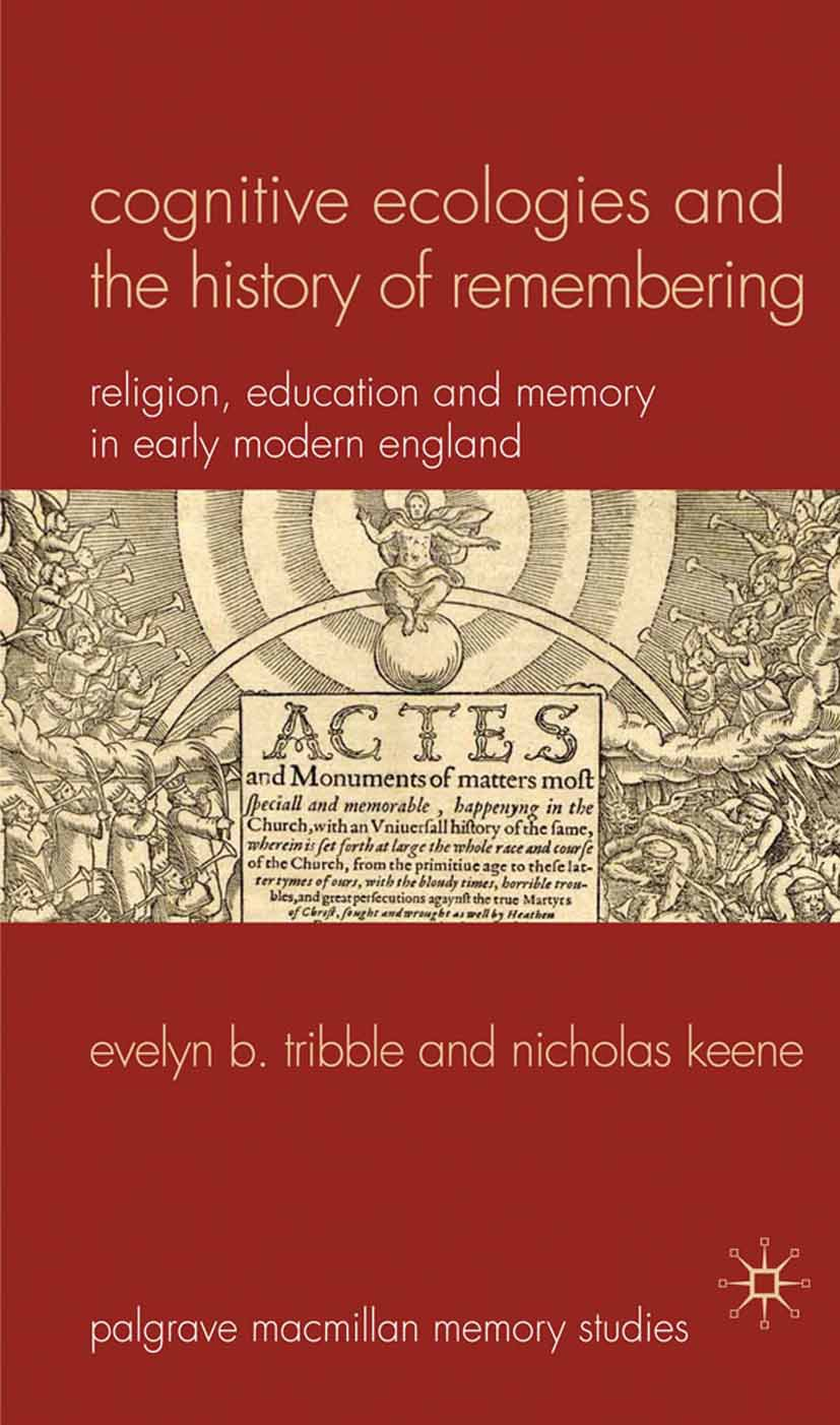 Keene, Nicholas - Cognitive Ecologies and the History of Remembering, ebook