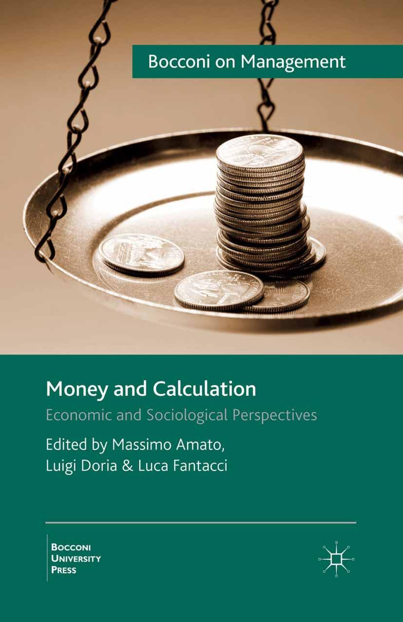 Amato, Massimo - Money and Calculation, ebook