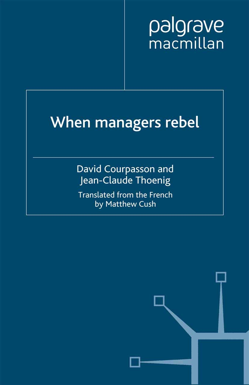 Courpasson, David - When Managers Rebel, ebook