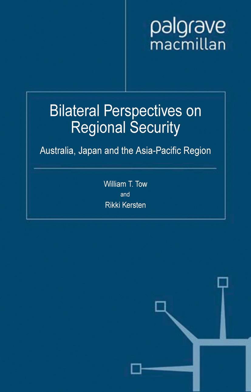 Kersten, Rikki - Bilateral Perspectives on Regional Security, ebook