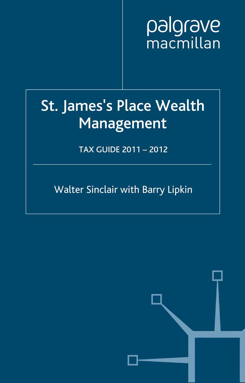 Lipkin, Barry - St. James's Place Wealth Management Tax Guide 2011–2012, ebook