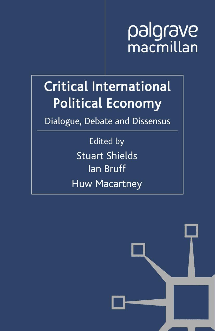 Bruff, Ian - Critical International Political Economy, e-bok