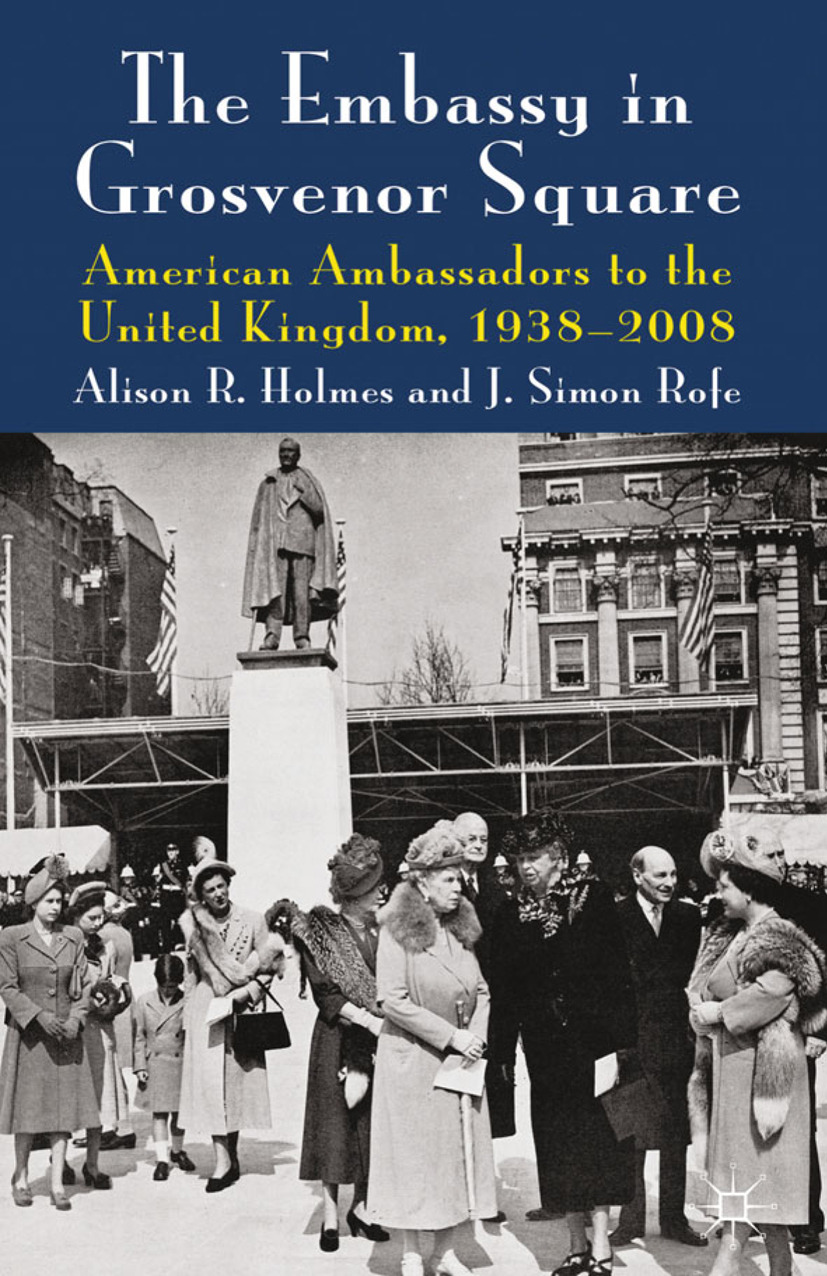 Holmes, Alison R. - The Embassy in Grosvenor Square, ebook