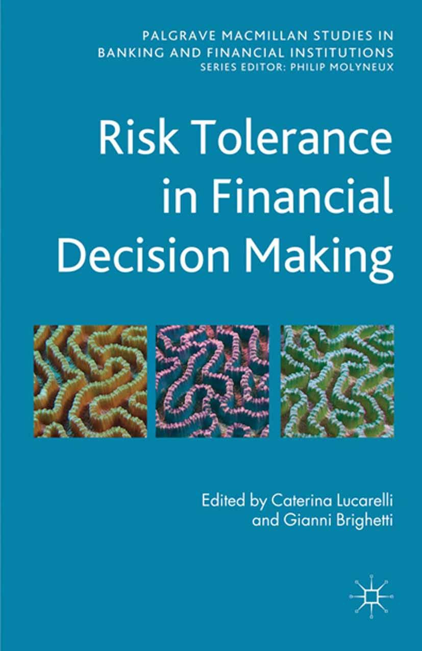 Brighetti, Gianni - Risk Tolerance in Financial Decision Making, ebook