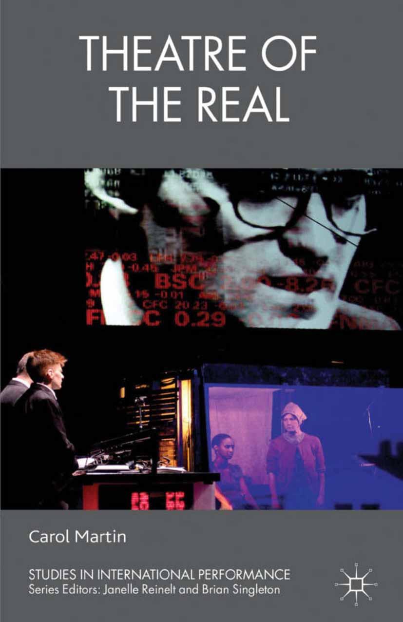 Martin, Carol - Theatre of the Real, ebook
