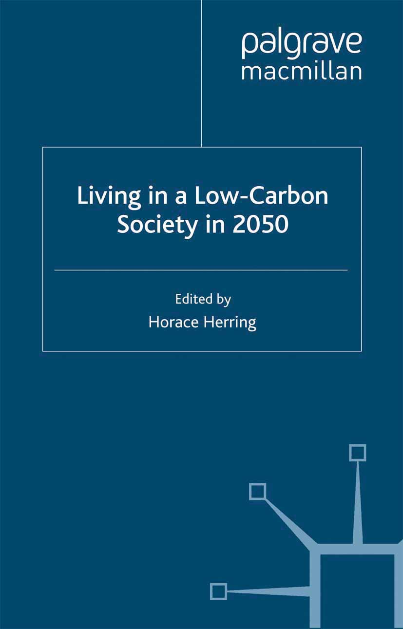 Herring, Horace - Living in a Low-Carbon Society in 2050, ebook