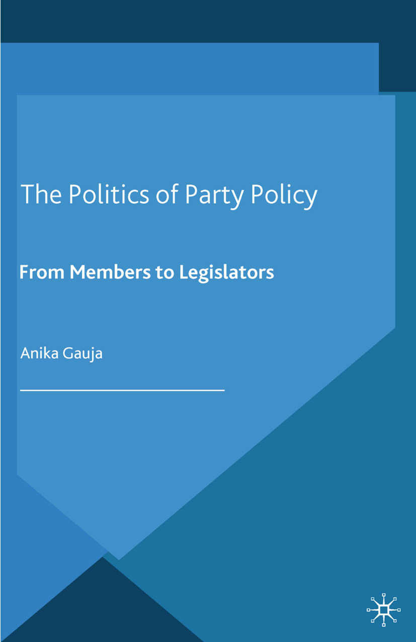 Gauja, Anika - The Politics of Party Policy, ebook