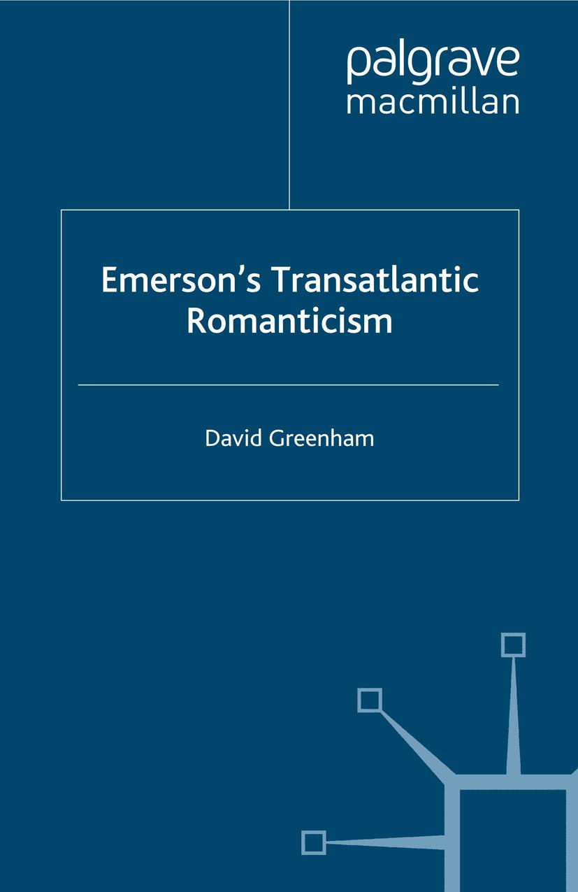 Greenham, David - Emerson's Transatlantic Romanticism, ebook