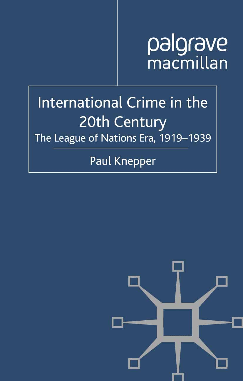 Knepper, Paul - International Crime in the 20th Century, ebook